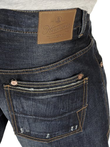 Herrlicher, Herrenjeans, Herrlicher Train,Denim,darkblue used vintage [15609] darkblue used vintage