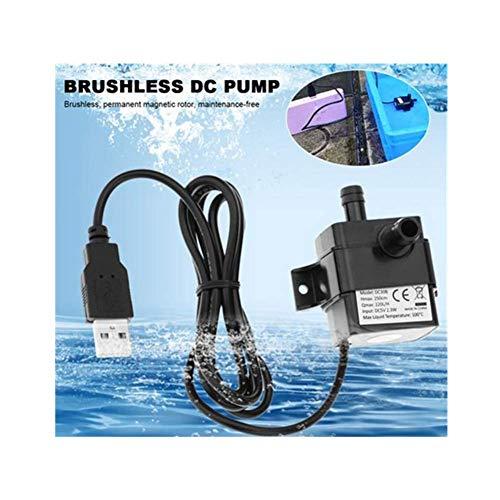 Nearthde 220 l/h max tauch Mini tauchwasserpumpe, Power solar Batterie bürstenlose elektrische pumpe, dc 5 v für Ultra leise für teich, Aquarium, Aquarium brunnen H&l Mini