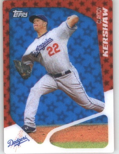2010 Topps Series 2 Specialty Insert: 2020 Baseball Card # T18 Clayton Kershaw ( 3D Technology ) Los Angeles Dodgers -