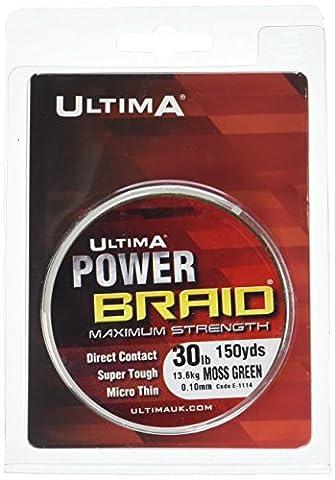 Ultima E1114 Power Braid Super Strong Micro Braid Fishing Line