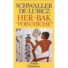 """Her-Bak """"Pois Chiche"""". Visage vivant de l'ancienne Egypte. Illustrations de Lucie Lamy."""