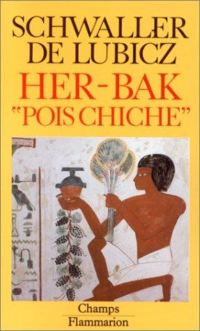 Her-Bak Pois Chiche. Visage vivant de l'ancienne Egypte. Illustrations de Lucie Lamy.