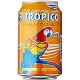 Tropico Boisson Non Gazeuse à l'Eau de Source Saveur Orange 6 canettes de 33 cl