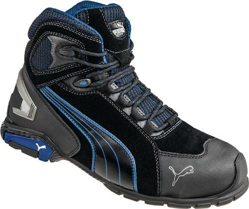 302276471683 Puma 632250-256-47 Rio Mid S3 SRC Safety Shoes Black Size 47 - Buy Online  in Oman.