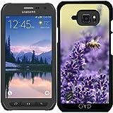 Hülle für Samsung Galaxy S6 Active - Lavendel Und Bienen