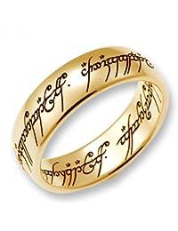 Herr der Ringe Schmuck by Schumann Design der EINE Ring aus massivem 333 Gelbgold ORIGINAL