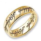Herr der Ringe Schmuck by Schumann Design Der eine Ring Gelbgold 333 Rg 58 4000-058