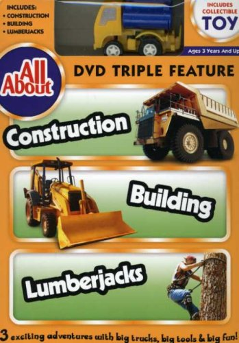 All About: Construction Building Lumberjacks [DVD] [Import]