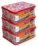 Best Easy Fold - Kuber Industries 3 Piece Non Woven Saree Cover Review