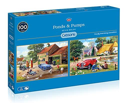 Gibsons Ponds & Pumps - Puzzle (2 x 500 Piezas)