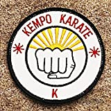"Best unknown Basketball Uniforms - Kempo Karate Patch 3 1/2"" Review"