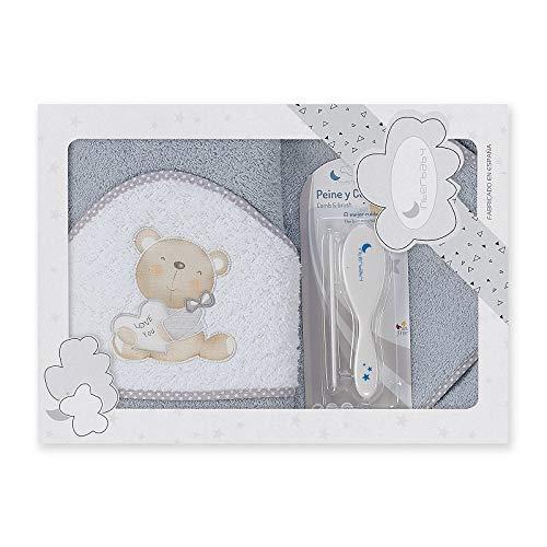 Capa de baño bebé + Cepillo y peine