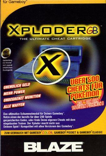 Game Boy - XPloder (Game Boy Cheat)