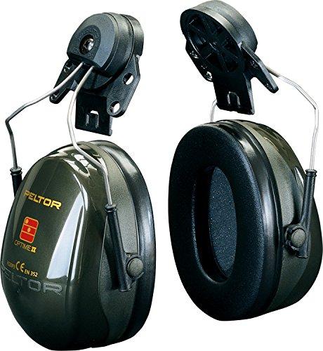 3M H520P3A Peltor Optime II Kapselgehörschutz, Grün (Peltor Helm)