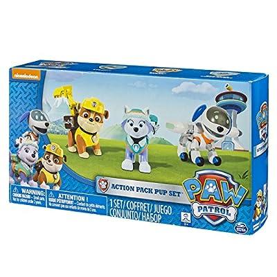 La pata Patrol - 6026091 - 3 Pack Figuras Mochila Transformables - La Patrulla de la pata por Spin Master