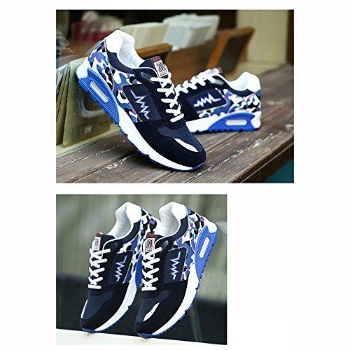 Xiaolin Chaussures Plates Version Coréenne Tendance Chaussures De Sport Chaussures De Course Avec Coussin Daria (couleur: 01, Taille: Eu / 41 / Uk7.5-8 / Cn42) 03