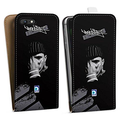Apple iPhone X Silikon Hülle Case Schutzhülle Kool Savas Fanartikel Merchandise Ercandize Downflip Tasche weiß