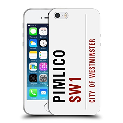 Ufficiale City Of Westminster Paddington Segnali Stradali 3 Cover Morbida In Gel Per Apple iPhone 6 / 6s Pimlico