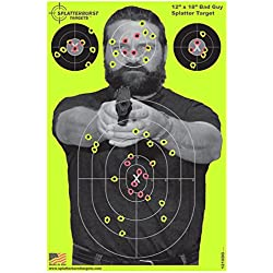 Splatterburst Targets Cible de tir «Suspect» 25pk 30,5x 45,7cm