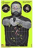 """Paket von 25 - Splatterburst Targets - 30,5 x 45,7 cm Reaktive """"Bad Guy"""" Schießscheiben - Gewehr - Pistole - AirSoft - BB Gun - Luftgewehr"""