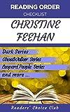 #10: Reading order checklist: Christine Feehan - Series read order: Dark Series , GhostWalker  Series , Leopard People  Series  and more!