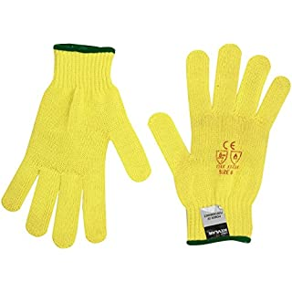Aparoli Original Kevlar Seamless 36908 Chainsaw Protective Gloves – Size 8