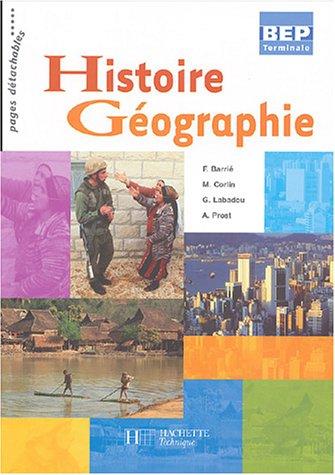Histoire géographie, BEP, terminale