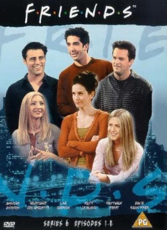 Click for larger image of Friends: Series 6 - Episodes 1-8 [DVD] [1995]