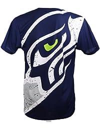 5203a85fc New Era Seattle Seahawks T-Shirt mit großem Logo in Navy für Männer ...