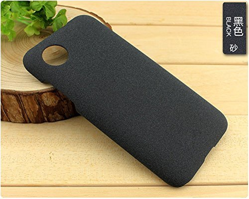 Pudini QuickSand Matte Shell Hard Case for HTC Desire 700 (709D) - Black