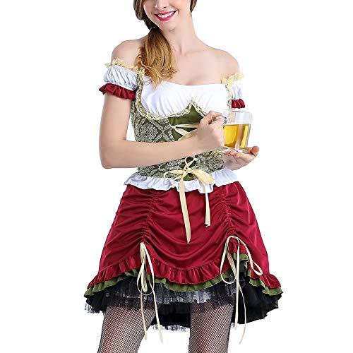 Kostüm Frauen Klassische Schneewittchen - EisEyen Halloween Kostüm kurzes Kleid Damen Kostüm Frauen Kleid Halloween Kostüm Kurzes Kleid,Maid Kostüm