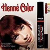 Henné Color Mahogany (Mahagoni) Haar - Mascara (15 ml)