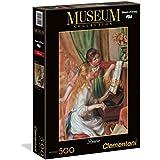 Clementoni - Puzzle de 500 piezas, Museos, diseño Mujeres Al Piano: Renoir (305254)
