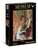 Clementoni - 30525.4 - Puzzle Collection High Quality - 500 Pièces - Jeunes Filles au Piano - Renoir