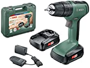 Bosch DIY tools 06039C8171 UniversalImpact 18 Cordless Combi Drill with Two 18 V Lithium-Ion Batteries