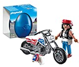 Playmobil Huevos - Motorista con moto (5280)