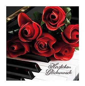 Depesche 5326.032Tarjeta de felicitación con 3D diseño, cumpleaños, Multicolor