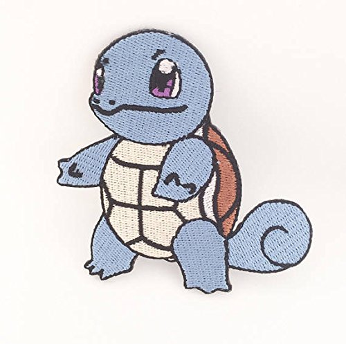 ch Embroidered Iron on Badge Aufnäher Kostüm Fancy Kleid Wasser Pokémon Cosplay (Meowth Kostüm)