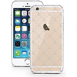 iPhone 5 Caso 5S por licaso® para el patrón de Apple iPhone 5 5S SE Ancla Nave Navegar TPU de silicona ultra-delgada proteger su iPhone 5S es elegante y cubierta regalo de coches