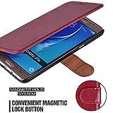 Mulbess Samsung Galaxy J7 (2016) Cover - Étui Housse en Cuir Ultra-mince Avec La...