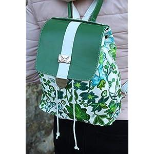 Cityrucksack Lederrucksack Lederhandtasche Damenrucksack