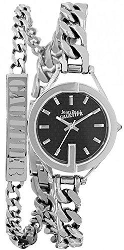 Jean Paul Gaultier Hombre Reloj de pulsera analógico cuarzo acero inoxidable 8502202