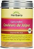 Herbaria Couleurs de Jaipur Curry Indien Bio pour Viande/Légumes/Poissons et Tofu Boîte 80 g