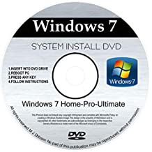 WINDOWS 7 32 & 64 bit DVD SP1 All Versions Ultimate Re-install Windows Factory Fresh! Recover, Repair, Re Install - Restore Boot Disc ~ Fix PC - Laptop - Desktop ~ AIO DVD/ROM