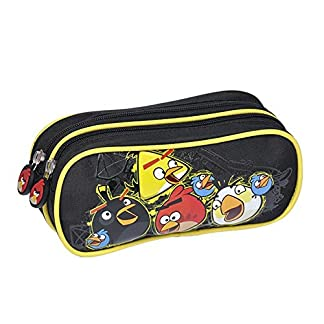 Angry Birds Estuche Grande), color negro