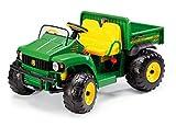 Peg Perego John Deere Gator - Tractor eléctrico de 2 plazas con Volante de 12...