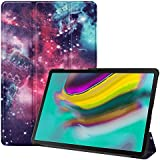 Fmway Case for Samsung Tab S5e, Smart Leather Cover with Stand Function Auto Wake/Sleep for Samsung Galaxy Tab S5e T720 T725