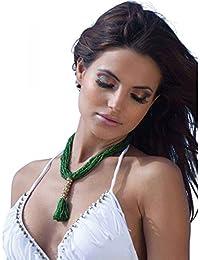 Aguaclara maillot de bain trikini blanc avec franges - Couleur - Blanc, Taille Maillot - 38