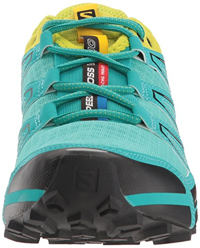 Salomon Speedcross Vario Women's Scarpe Da Trail Corsa - AW16 Turchese/Giallo Fluo