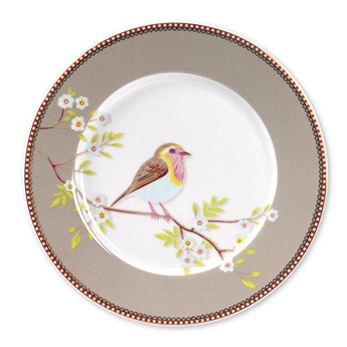 Pip early bird khaki Teller Speiseteller Desserteller 21cm Durchmesser -